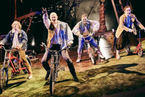 Barbican Theatre's Le Navet Bete's Three Musketeers at Plymouth Athenaeum