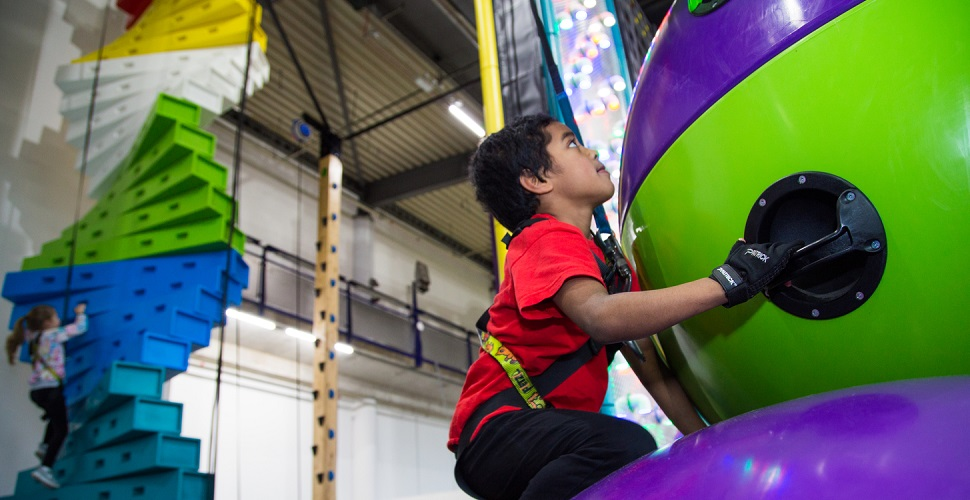 Challenge yourself at Clip n Climb Plymouth