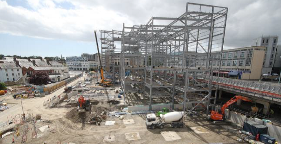 Development at Bretonside - Plymouth
