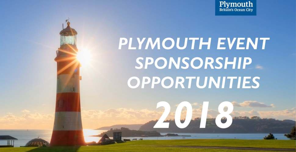 Exciting Plymouth Event Sponsorship Opportunities 2018
