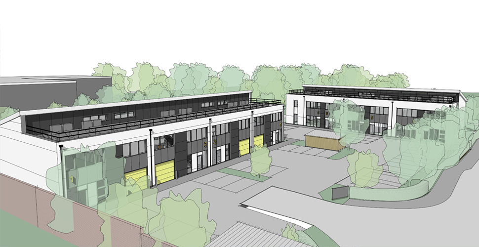 CGI of new plot at Plymouth International Medical and Technology Park
