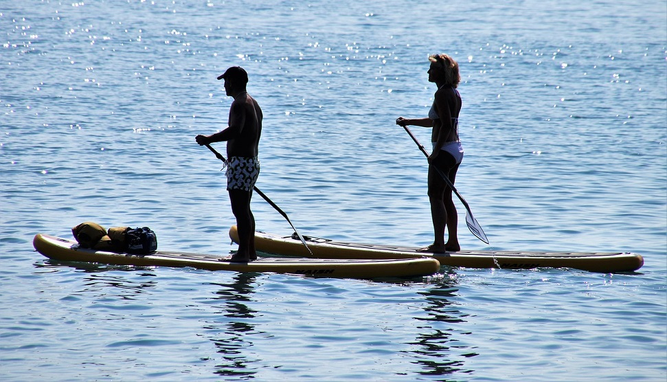 South West Stand Up Paddle board at Royal William Yard