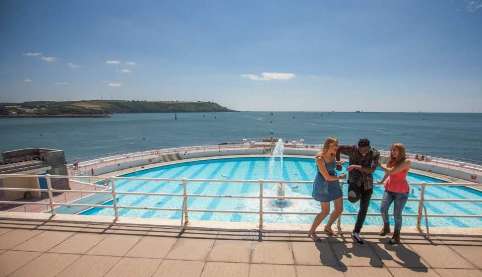 Tinside Lido at Plymouth Hoe