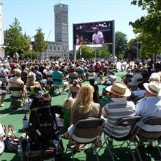 | Wimbledon on the Big Screen
