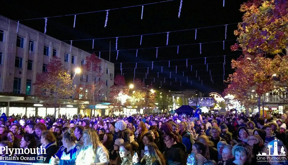 Christmas Lights Switch-On - Christmas in Plymouth, Plymouth - Visit ...