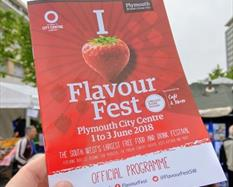 Flavour Fest programme Plymouth
