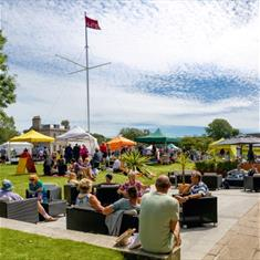 | The Good Food Market at the Royal William Yard