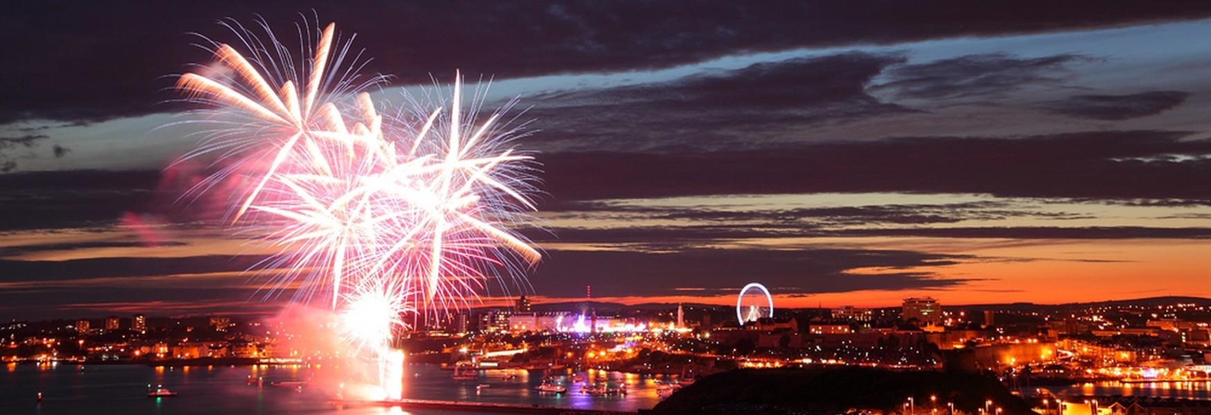 National Fireworks Championship Plymouth