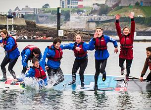 Try something new this #summerinplymouth at Mount Batten