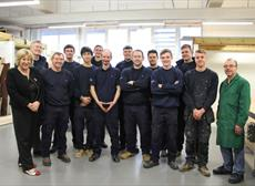 'Custom-built' Skills for Princess Yachts Employees