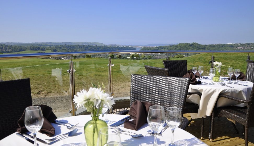 Terrace View at Boringdon Golf Club
