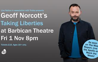 Geoff Norcott presents 'Taking Liberties' Tour 2019