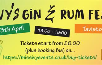 Miss Ivy's Gin and Rum Festival