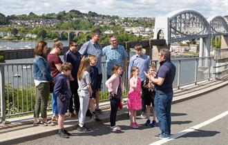 Guided tours of the Tamar Bridge and Royal Albert Bridge