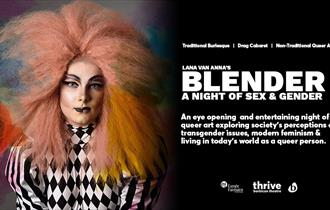 Lana Van Anna's Blender: A Night of Sex & Gender