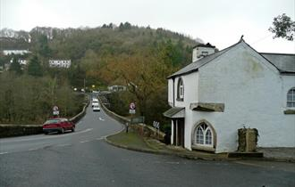 Gunnislake ~ Toll House and Newbridge by Jonathan Billinger