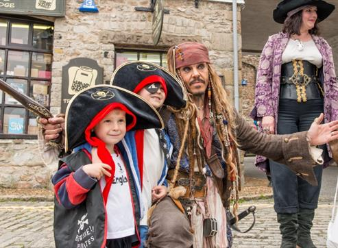 Pirates Weekend Plymouth