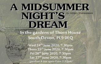 Shakespeare's A Midsummer Night's Dream in Thorn Gardens