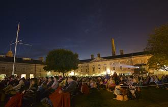 Open Air Cinema at Royal William Yard