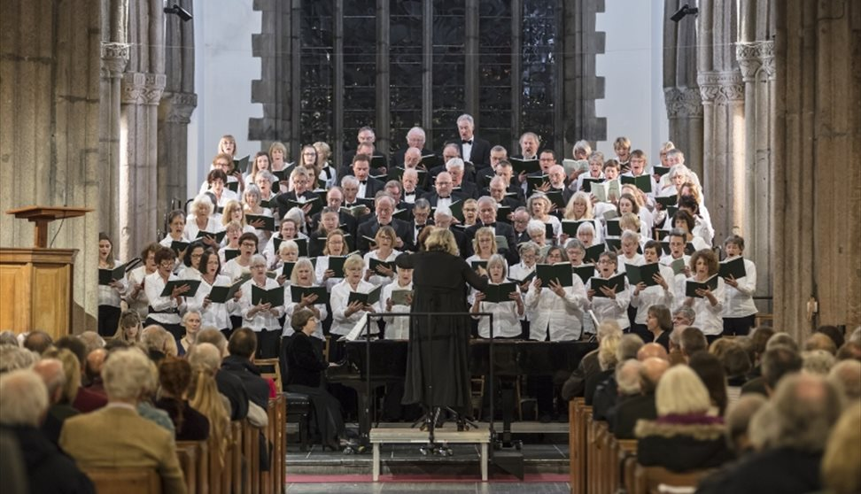 Music: University of Plymouth Choral Society Carol Service