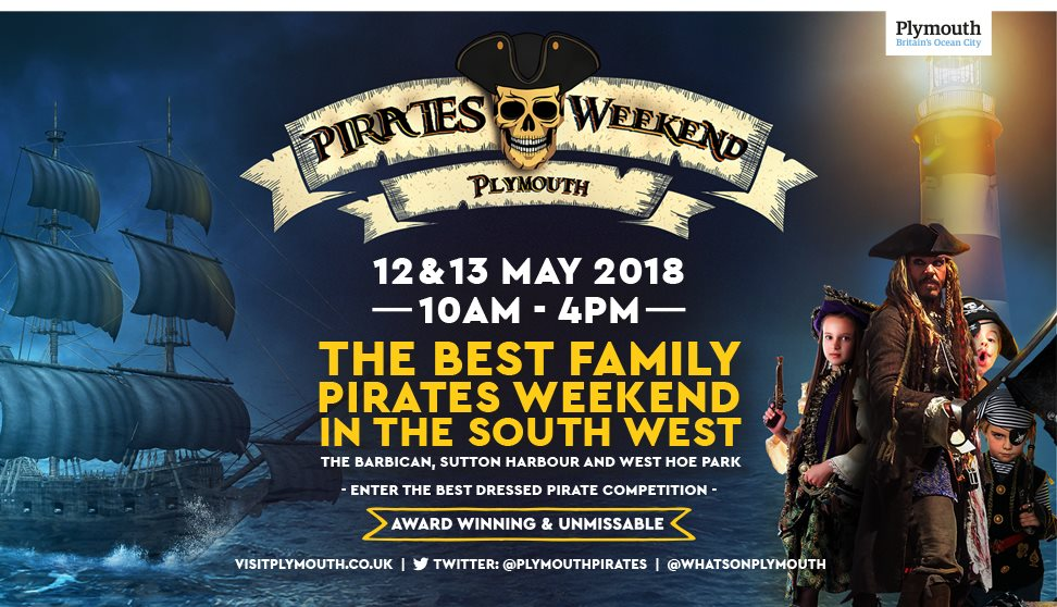 Pirates Weekend Plymouth 2018