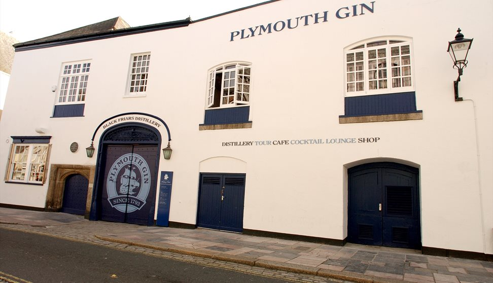 Plymouth Gin Outside