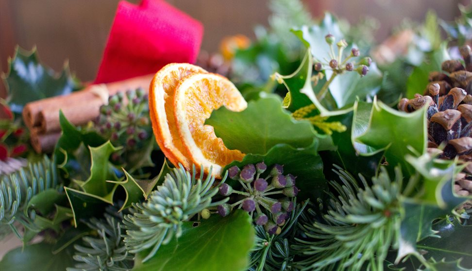 Wreath Making Workshop and Afternoon Tea