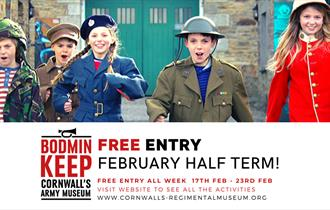 Free Entry and Events at Bodmin Keep!