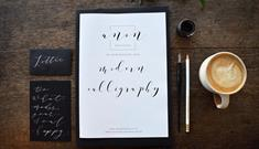 Christmas Calligraphy Workshop at Boringdon Hall