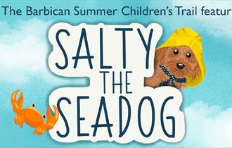 Salty the seadog banner