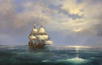 Art Exhibition: Voyage of the Mayflower by Julie Hammond